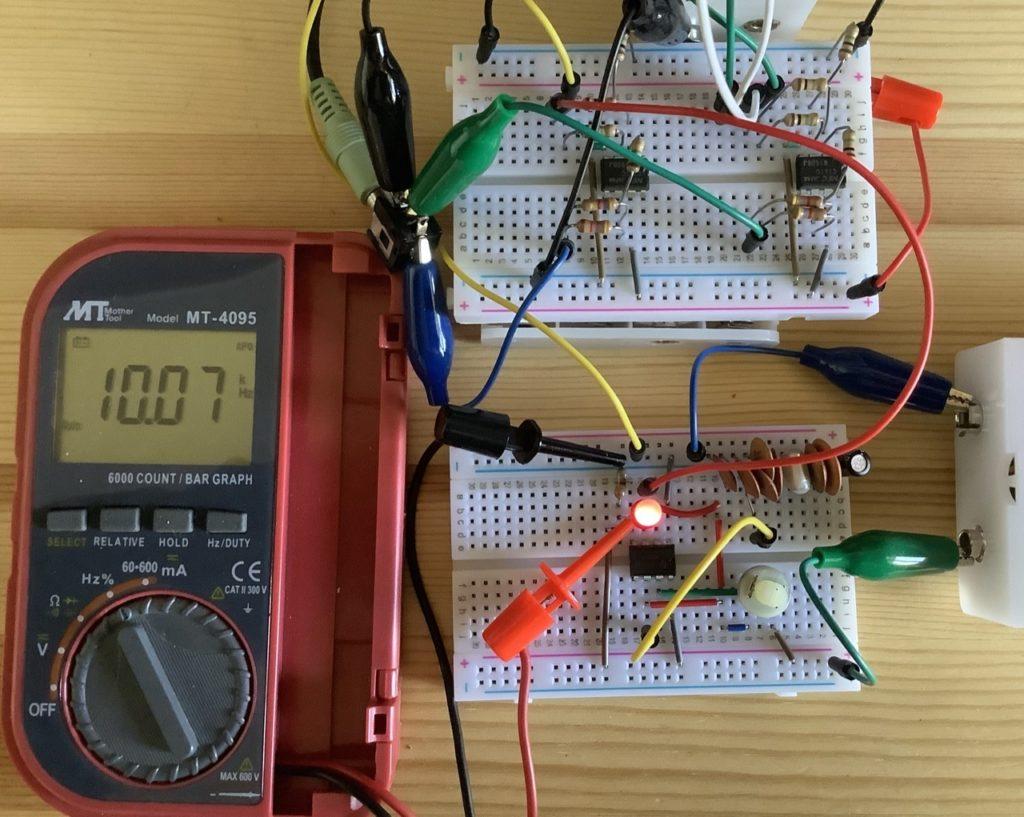 555発振器10kHz付近