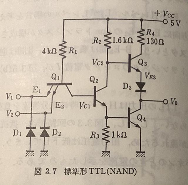 標準形TTL回路図