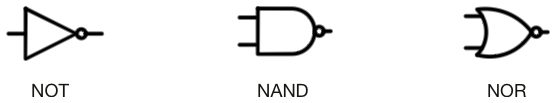 Not,Nand,Nor