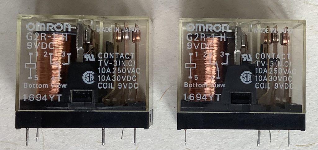 リレー OMRON G2R-1-H