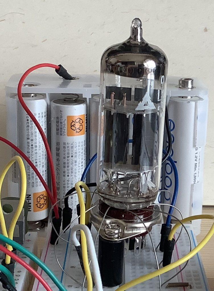 双三極管でAND回路を作った