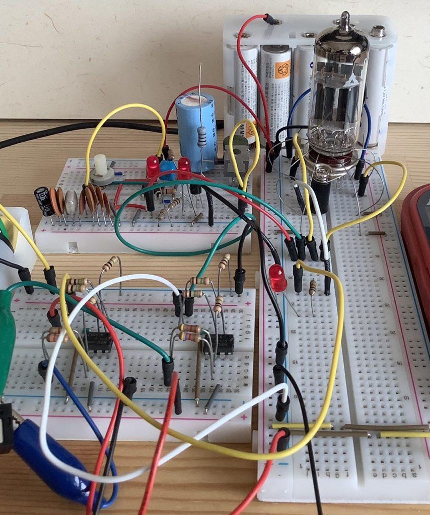 真空管でAND回路を作ってみた