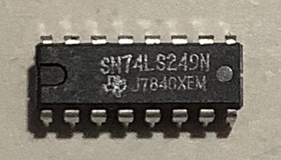 SN74LS249N