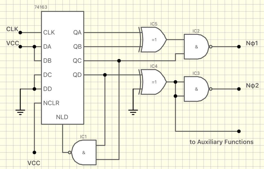 8080 Clock Generator