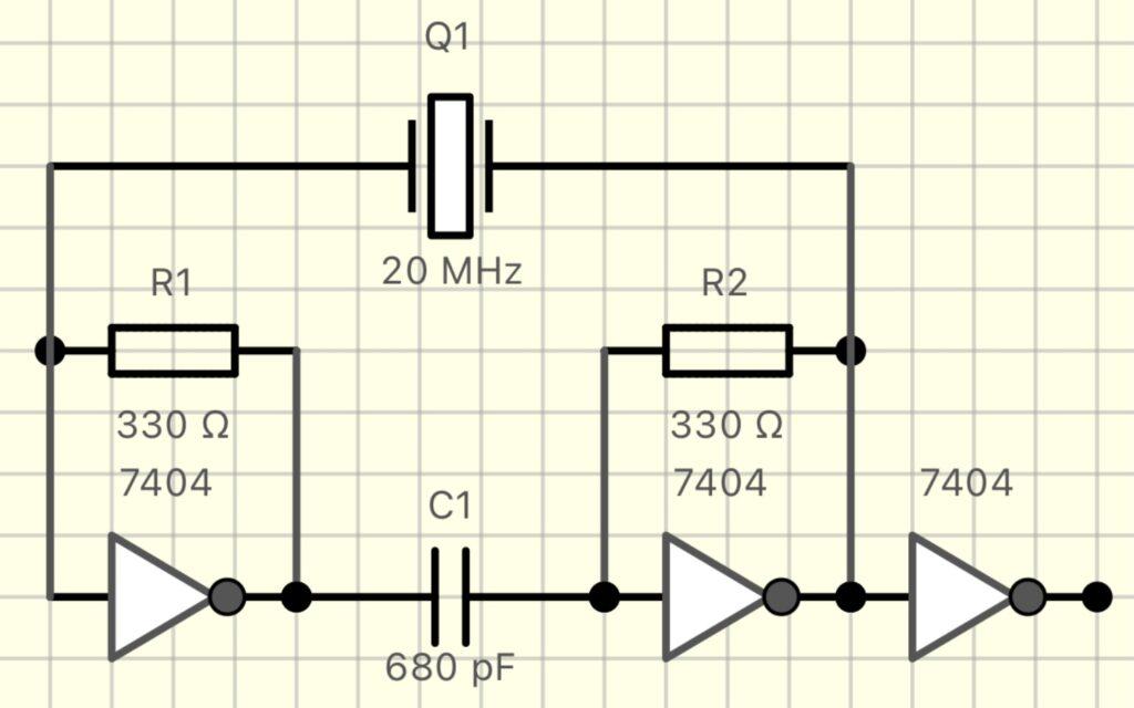 8080 Oscillator